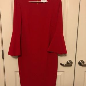 Red Calvin Klein Dress
